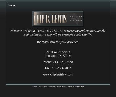 Chip B. Lewis, LLC
