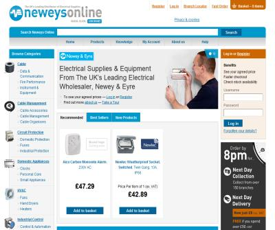Neweys Online - electrical wholesaler