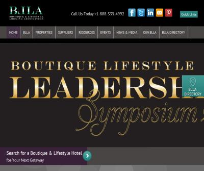 Boutique Hotels, Lodging & Luxury Hotels - Boutique & Lifestyle Lodging Association