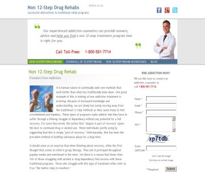 Non 12-Step Drug Rehab Information Center