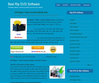 DVD Ripper-a useful program for dvd ripping