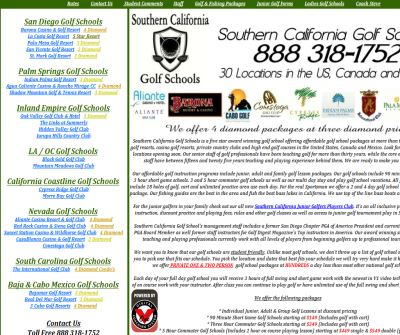 Southern California Golf Schools