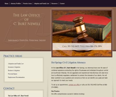 The Law Office of C. Burt Newell