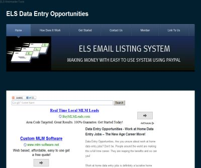 Data Entry Opportunities – Making Money with Easy to Use System Using PayPal