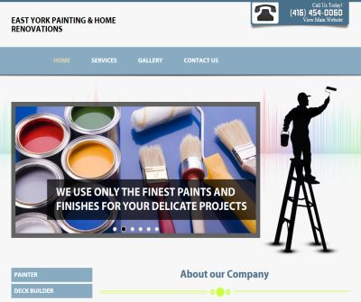 G&B Painting Services Toronto - House Painting Interior/Exterior Commercial