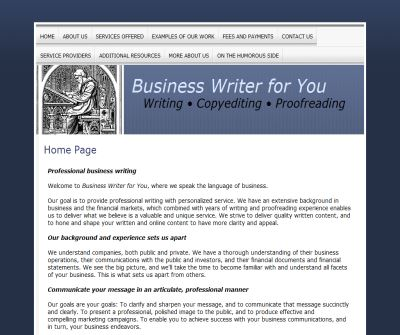 Business Writer For You