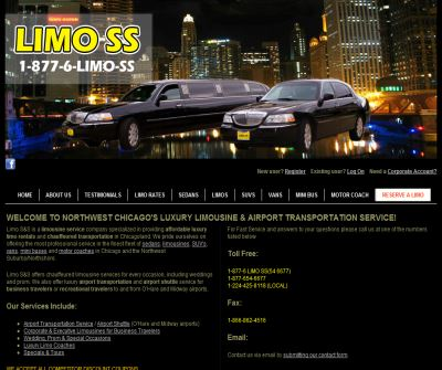 Limo S&S Northwest Chicago Limousine Service | Airport Transportation Service | Hummer H2 Limos