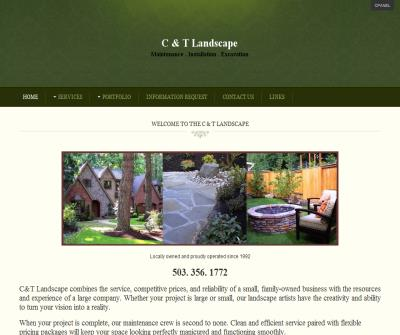 C & T Landscape Maintenance, Installation, & Excavation