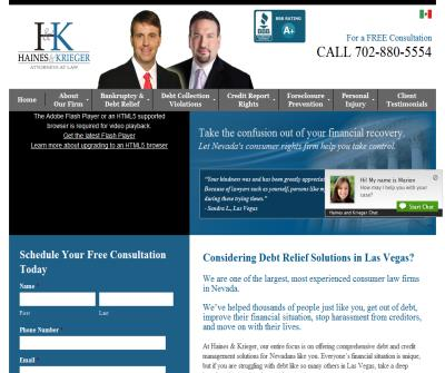 Haines and Krieger, Las Vegas Bankruptcy Attorneys