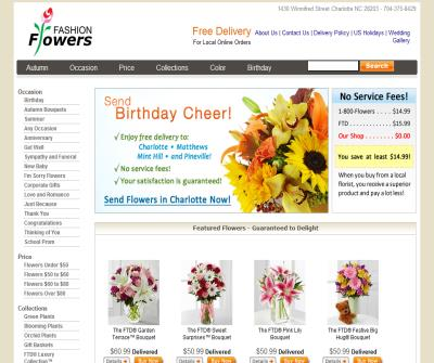 Fashion Flowers | Charlotte's Leading Florist & Gift Basket Provider