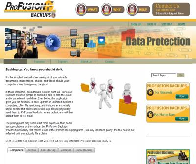 Data Protection & Backup Service | ProFusion Backups