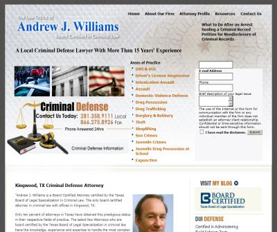 Andrew J. Williams,
