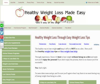 Healthy Weight Loss Made Easy