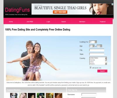 100% completely free dating site