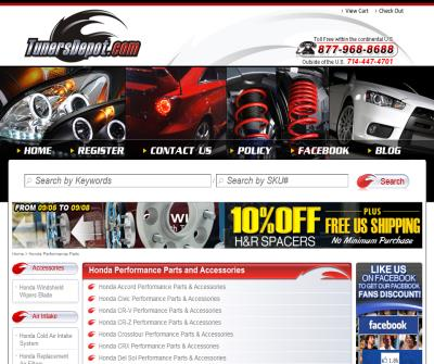 Honda Performance Parts & Accessories at TunersDepot.com
