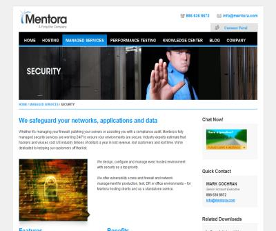 Network and Infrastructure Security Management Services.