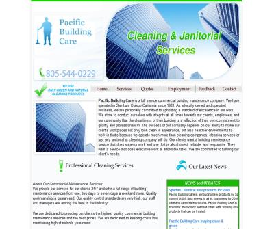 San Luis Obispo janitorial cleaning services company