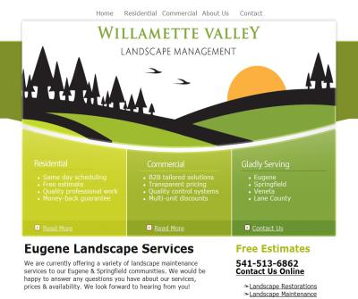 Willamette Valley Lawn Care -- Free estimates!