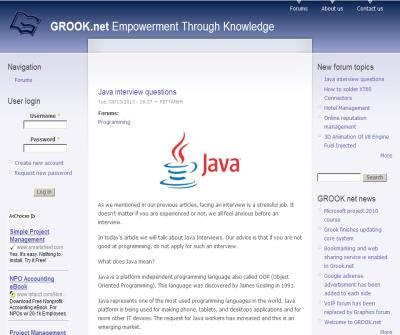 GROOK Network | Empowerment Through Knowledge