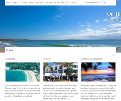 Apartment accommodation Noosa