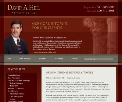 David A. Hill, Attorney at Law