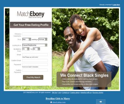 MatchEbony.com - Black Online Dating Site
