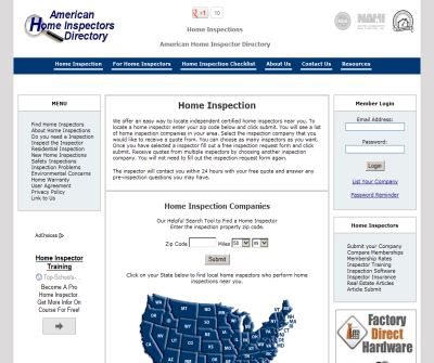 Home Inspection - American Home Inspector Directory