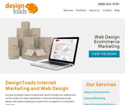 DesignToads - Atlanta Website Design - Atlanta Web Solutions - Atlanta SEO Services