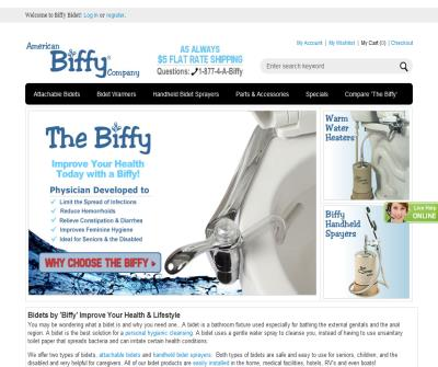 Biffy Bidets Toilet Seat Bidet Attachment