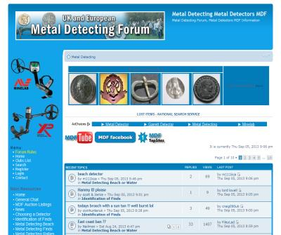 Metal Detecting UK