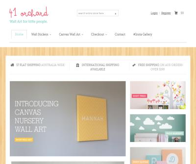 41 Orchard Nursery Wall Stickers