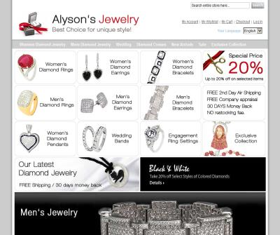 Diamond Jewelry Online, Engagement Rings, Pendants, Earrings