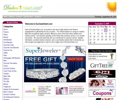 DuchessHeart.com - A huge selection of Great Gift ideas at awesome prices