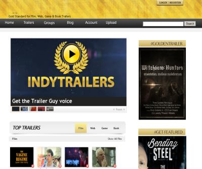 Independent film trailers