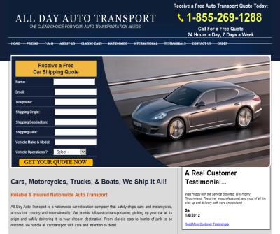 Auto Transport | Auto Carrier | Auto Shipping Quote