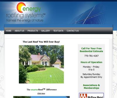 Energy Roofing Systems