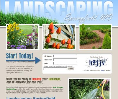 Landscaping Springfield MO by New Seasons