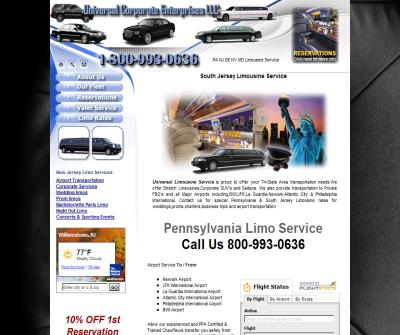 New Jersey and Philadelphia limousine and Airport Transportation