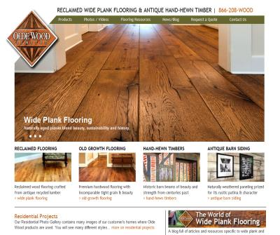 Wide Plank Hardwood Flooring