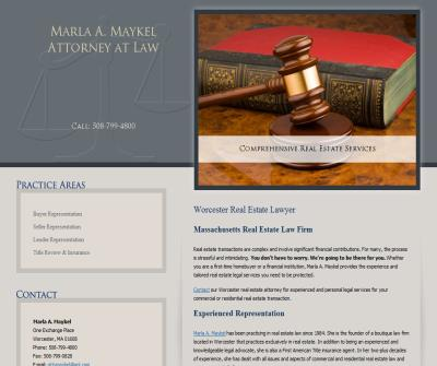 Marla A. Maykel, Attorney at Law