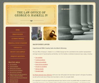 The Law Office of George O. Haskell IV