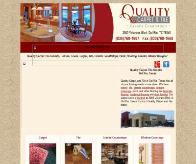 Quality Carpet and Tile, Del Rio, Texas, Carpet, Tile, Granite Countertops, Flooring