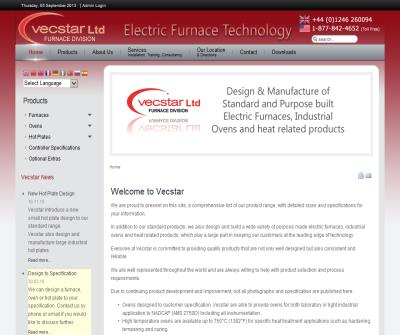Vecstar Electric Furnaces Technology