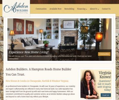 New Homes By Ashdon Builders