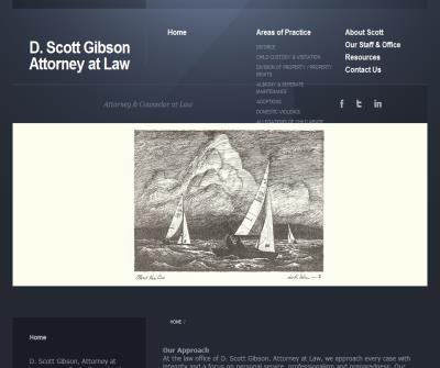 D. Scott Gibson Attorney at Law