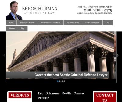 Eric Schurman, Attorney at Law