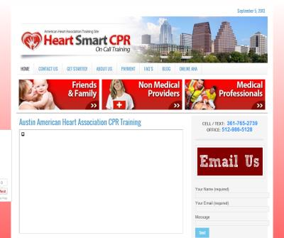 Heart Smart CPR -  Austin First Aid Training