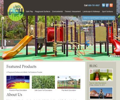 Playground surfaces, recycled tire mulch, synthetic turf, playground flooring, poured in place safety surfacing