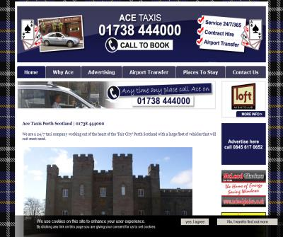 ace taxis perth scotland
