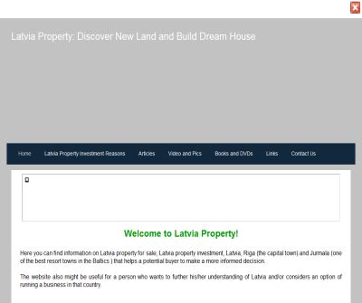 Latvia Property: Discover New Country and Build Dream House